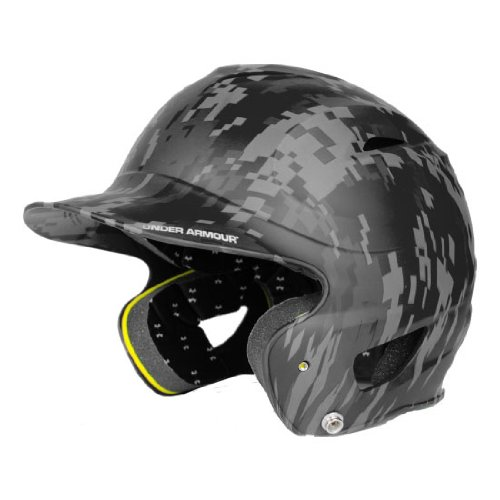 Under Armour Baseball UABH100-FGB2: SC Classic Solid Batting Helmet with Baseball Faceguard by Under Armour