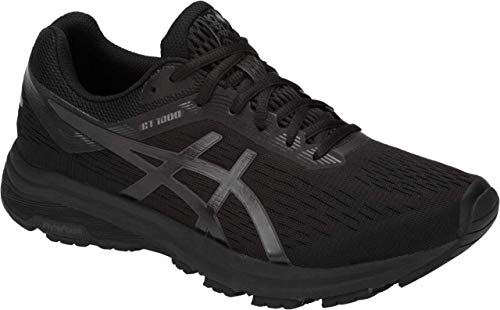 ASICS GT-1000 7 Men's Running Shoe, Black/Phantom, 10.5 M US
