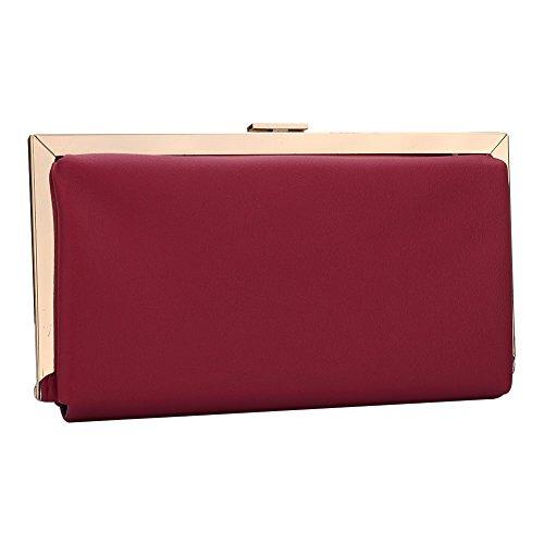 evening clutch pour femme Red Multi UNYU Pochette color 6RCdWzxdqw