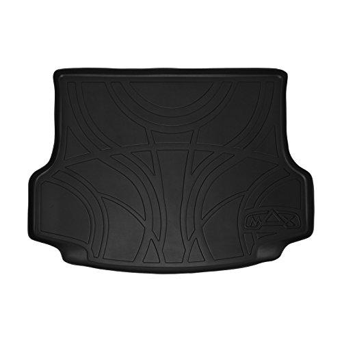 MAX LINER D0168 All Weather Custom Fit Cargo Trunk Liner Floor Mat Black for 2015-2019 Lexus NX200t / NX300 / NX300h