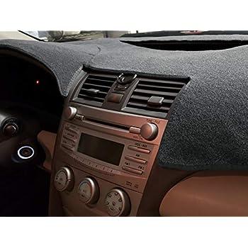 DashMat VelourMat Dashboard Cover Toyota Prius Plush Velour, Black