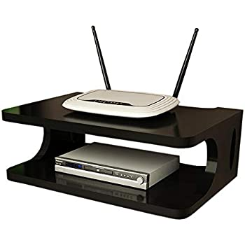 Amazon.com: Set Top Box Shelf TV Wall Mount Wireless WiFi