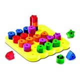 6 Pack LEARNING RESOURCES GEO SHAPES PEG BOARD