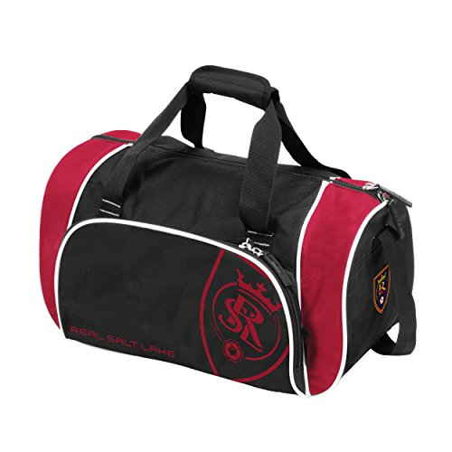 NCAA Real Salt Lake Adult Locker Duffel, Cardinal by Logo Brands