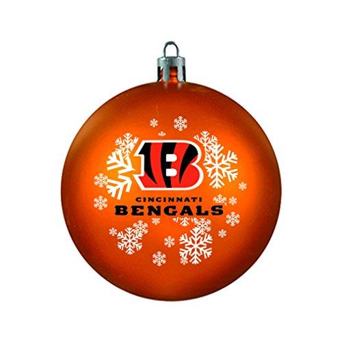 (NFL Cincinnati Bengals Shatterproof Ball Ornament)