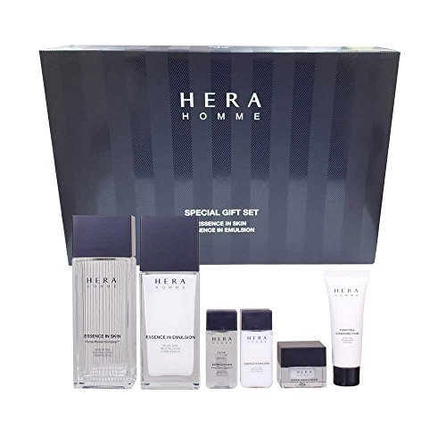 NEW Hera Homme Special Set 2 Items (Essence in Skin 125ml/4.22oz, Essence In Emulsion 110ml/3.71oz) Review
