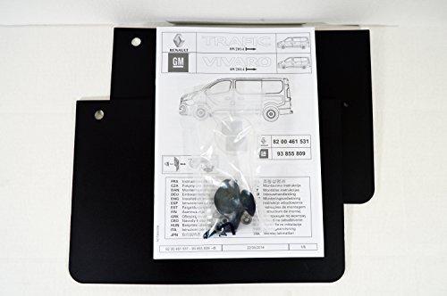 93855809 + 93453910 : SET OF MUDFLAPS/SPLASH GUARDS KIT - Genuine OE - NEW from LSC Genuine GM