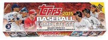 2015 Topps Baseball Cards Mill Set