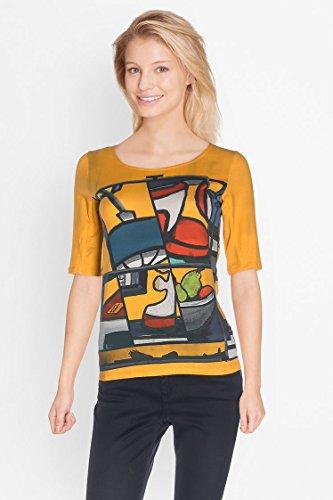 Aventures des toiles t-shirt jaune 937303 taille 40
