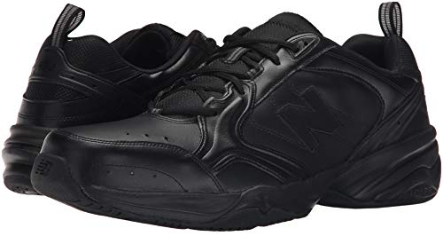 New Balance Men's 624 V2 Casual Comfort Cross Trainer, Black, 7 M US