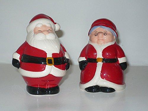 Publix Santa & Mrs. Claus Salt & Pepper Shakers