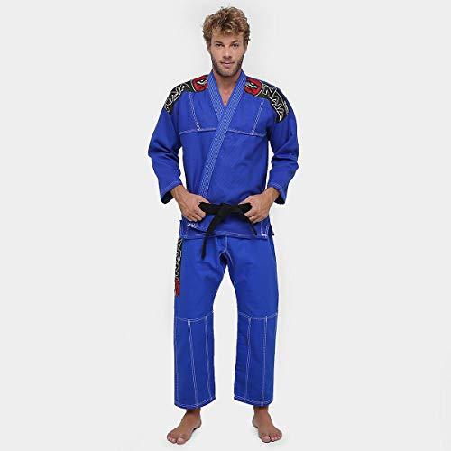 Kimono Jiu Jitsu Training - Naja - Azul Royal - A4