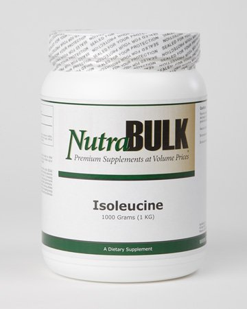 Cheap NutraBulk L-Isoleucine Powder ONE KILOGRAM
