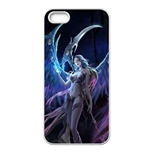 Valkyrie Girl iPhone 4 4s Cell Phone Case White F7639555