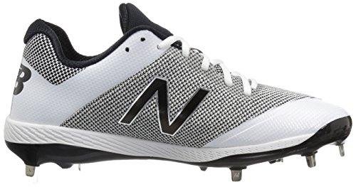 New Balance Herren L4040v4 Metall Baseball-Schuh Silber / Camo