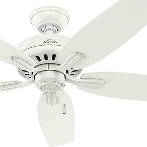 Hunter Fan 52 inch Fresh White Large Room Ceiling Fan