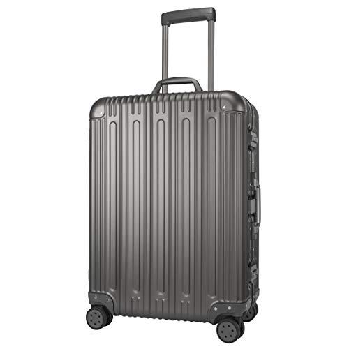 Winbest Aluminum Spinner Suitcase Hard Shell Luggage Case TSA Lock Spinner 26