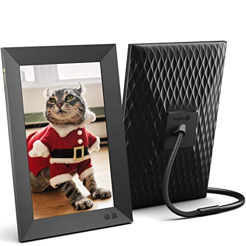 Nixplay 10.1 inch Smart Digital Photo Frame with WiFi (W10F) – Black – Share Photos and Videos Instantly via Email or…