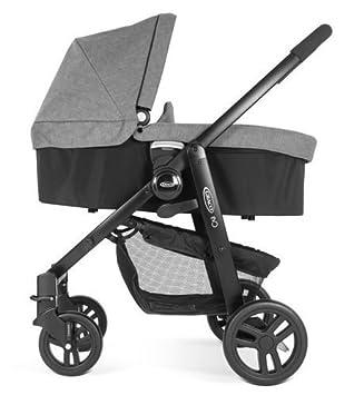 Graco - EVO cochecito de bebé 2 en 1 incluye capazo, gris pizarra: Amazon.es: Bebé