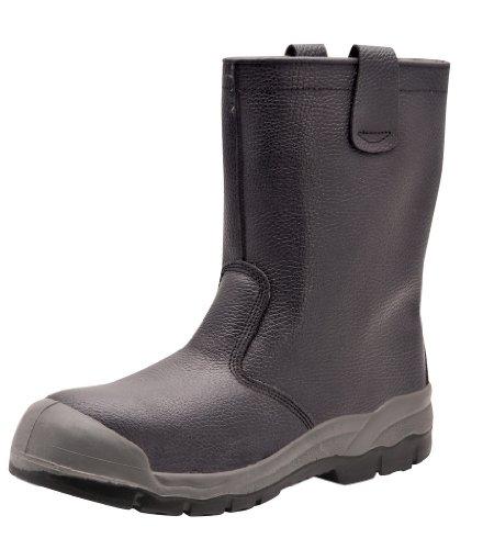 Portwest protezione stivali da lavoro misura UK 5 Black 6 UK