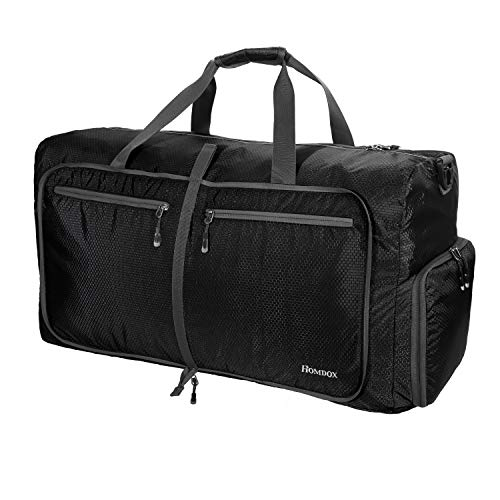 Homdox 80L Large Duffle Bag for Men Women,Waterproof Lightweight Foldable Camping Duffel Bag,Large Gym Bag for Men,Travel Luggage Storage Duffel Bag Large Size