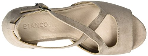 Bianco Nougat 20 Cross Marron Sandales Plateforme 49218 Femme pOp0xw4r