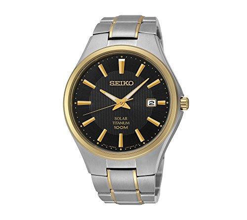 Seiko-Mens-Two-Tone-Titanium-Solar-Watch
