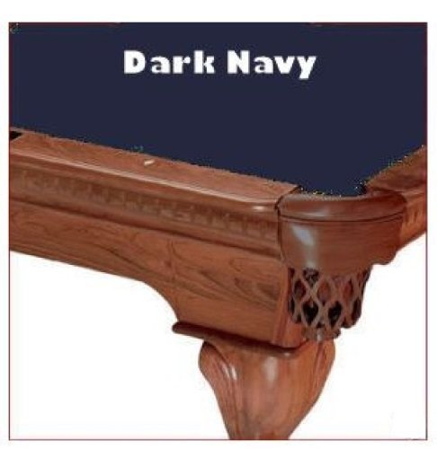 (8' Dark Navy ProLine Classic 303 Billiard Pool Table Cloth Felt)