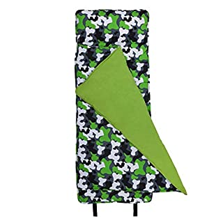 Wildkin Original Nap Mat, Features Built-In Blanket and Pillow, Perfect for Daycare and Preschool or Napping On-the-Go - Green Camo (B003F1FEWA) | Amazon Products