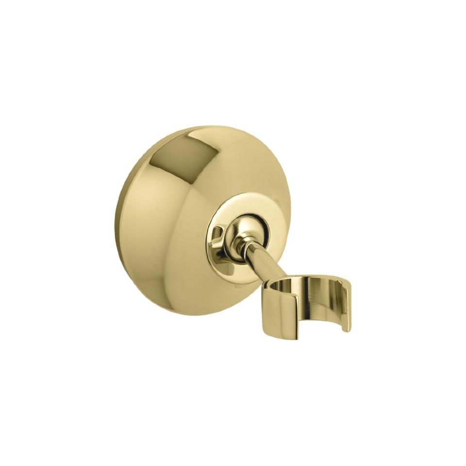 Kohler K 352 PB Forte Adjustable Wall Mount Bracket, Vibrant Polished Brass