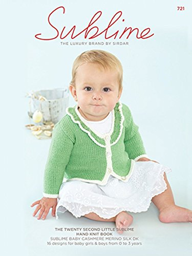 Sublime Baby Cashmere Merino Silk 721 Knitting Pattern Book Dk
