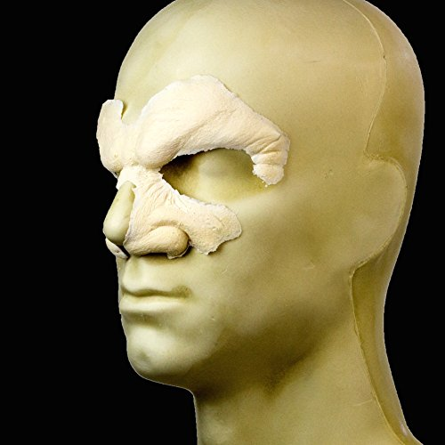 Rubber Wear Foam Latex Prosthetic - Snarl FRW-044 - Makeup and Theater FX (Foam Prosthetic Face)