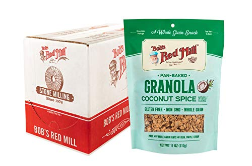 Bob's Red Mill Pan-Baked Coconut Spice Granola, 11-ounce (Pack of ()