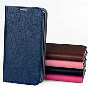 YXF New Design Wood Grain PU Leather Case for Samsung Galaxy S3 Mini I8190 (Assorted Colors) , Rose