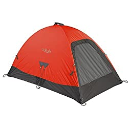 Rab Latok Mountain 2 Tent Signal Orange One Size by RAB