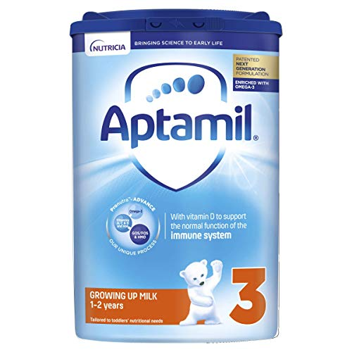 Aptamil Growing Up Milk Stage 3, 1-2 Years, 800 g, Pack of 6