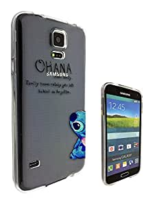 c0036 - Ohana Family Meaning Fun Cool Design For All Samsung Galaxy S4 Mini Fashion Trend CASE Gel Rubber Silicone Protective Case Clear Cover
