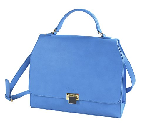 Bag Light Turquoise Polyester Woman M Camomilla Tote Milano Blue z7PqCfx