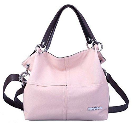 cher sac sac cuir à bandoulière sac pas femme Rose hobo grand femme main à YOGLY main cabas main Sac sac sac fourre à w4I1qqpS