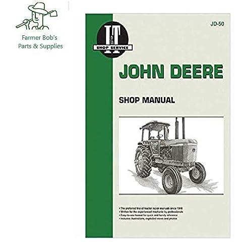 Amazoncom It Shop Manual John Deere Models 4030 4230 4430