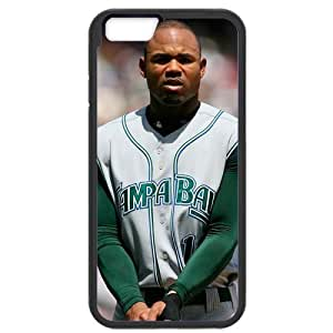 MLB iPhone6 Black Tampa Bay Devil Rays cell phone cases&Gift Holiday&Christmas Gifts NBGH6C9124670