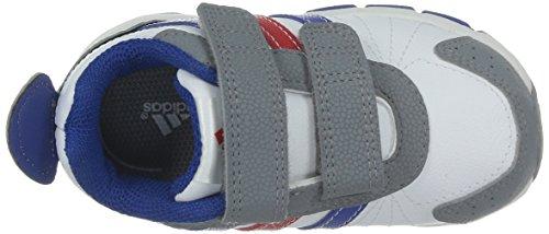 adidas , Jungen Outdoor Fitnessschuhe 21 Weiß / Grau / Mehrfarbig