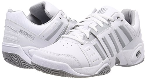 3 EU KS Highrise 01 Chaussures Light White Tennis Femme Blanc Tfw Bigshot Performance de Swiss K ZEqgYxC