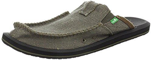 Sanuk Mens M Vous Avez Mon Dos Sandale Slip-on Ii (8 D (m) Us / 41 Eur, Armée)