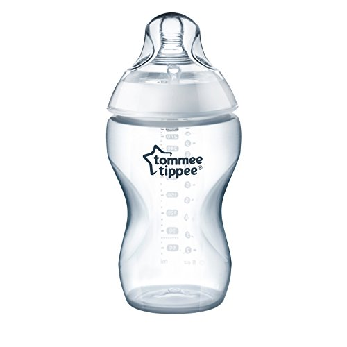 Tommee Tippee Closer to Nature Added Cereal Baby Bottle, Y-Cut Nipple, Easy Latch Nipple, 11 Ounce, 1 Count from Tommee Tippee