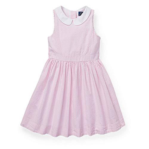 Ralph Lauren Polo Girls Seersucker Party Dress (6X)