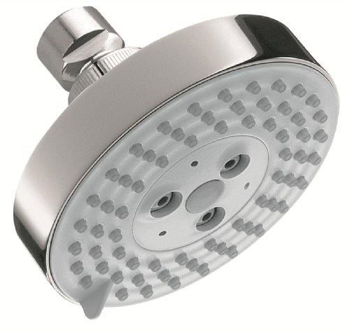 Hansgrohe 04340000 Raindance S 100 AIR 3-Jet Showerhead, Chrome by Hansgrohe