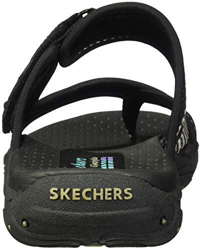 Black Tongs Skechers Swag Reggae Femme Zig W87w0YZ0q