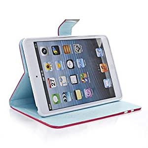 NEW Jotter Pattern PU Leather Case with Stand for iPad mini1/2(Assorted Colors) , Green