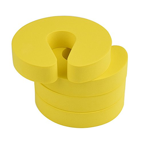 Mudder Safety Finger Stopper Yellow
